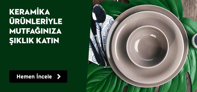 Keramika Ürünleriyle Mutfağınıza Şıklık Katın!
