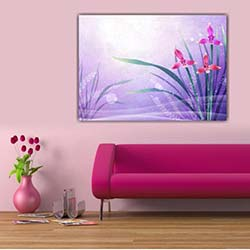 Diamonds Canvas DC105 Tablo - 50x70 cm
