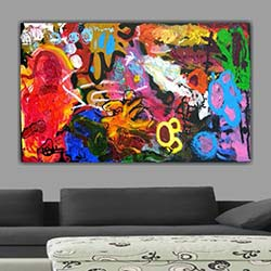 Diamonds Canvas DC239 Tablo - 50x70 cm
