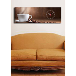 Quick (3090UCS-12) 3090 Canvas Tablo Saat - 30x90 cm