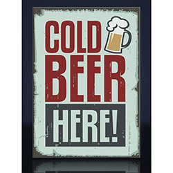 Arte AD10081 Cold Beer Kanvas Tablo - 40x60