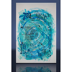 Arte AD10541 Crack Sea Kanvas Tablo - 40x60