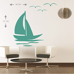 Supersticx KTS180 Duvar Sticker - 90x70 cm