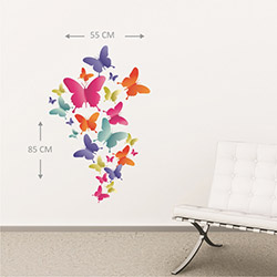 Supersticx KTS230 Duvar Sticker - 55x85 cm