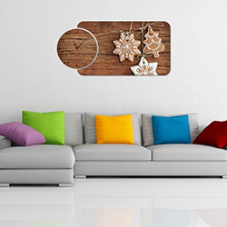 Decorange Alignment Y154 Tablo Saat - 85x41 cm