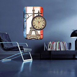 Decorange Alignment D14 Tablo Saat - 48x70 cm
