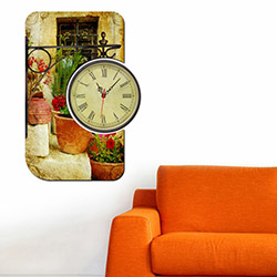 Decorange Alignment D24 Tablo Saat - 48x70 cm