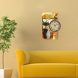 Decorange Alignment D30 Tablo Saat - 48x70 cm