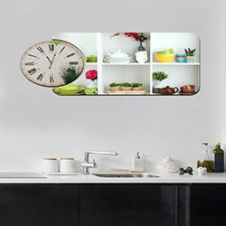 Decorange Alignment Y1 Tablo Saat - 85x41 cm