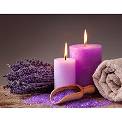 Duvar Tasarım DLC 1003 Candle Led Canvas Tablo - 70x50 cm