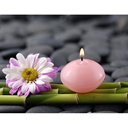 Duvar Tasarım DLC 1007 Candle Led Canvas Tablo - 70x50 cm