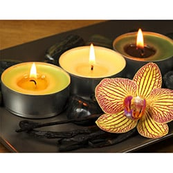 Duvar Tasarım DLC 1019 Candle Led Canvas Tablo - 70x50 cm