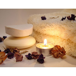 Duvar Tasarım DLC 1020 Candle Led Canvas Tablo - 70x50 cm