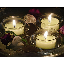 Duvar Tasarım DLC 1033 Candle Led Canvas Tablo - 70x50 cm