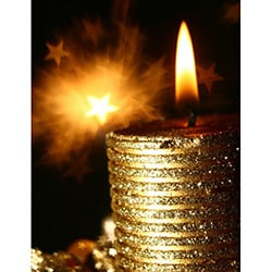 Duvar Tasarım DLC 1062 Candle Led Canvas Tablo - 70x50 cm