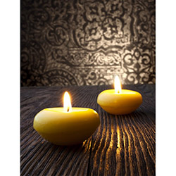 Duvar Tasarım DLC 1065 Candle Led Canvas Tablo - 70x50 cm