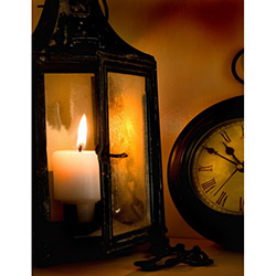 Duvar Tasarım DLC 1069 Candle Led Canvas Tablo - 70x50 cm