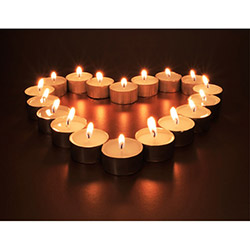 Duvar Tasarım DLC 1077 Candle Led Canvas Tablo - 70x50 cm