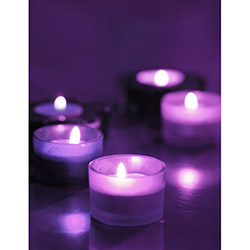 Duvar Tasarım DLC 1081 Candle Led Canvas Tablo - 70x50 cm