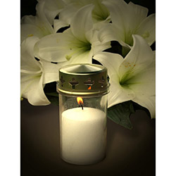Duvar Tasarım DLC 1087 Candle Led Canvas Tablo - 70x50 cm