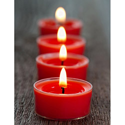 Duvar Tasarım DLC 1093 Candle Led Canvas Tablo - 70x50 cm