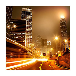 Duvar Tasarım DLC 1284 City & Mix Led Kanvas Tablo - 60x40 cm