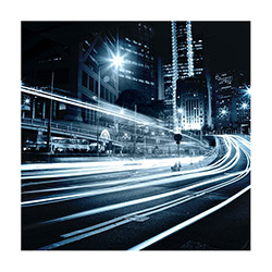 Duvar Tasarım DLC 1285 City & Mix Led Kanvas Tablo - 60x40 cm