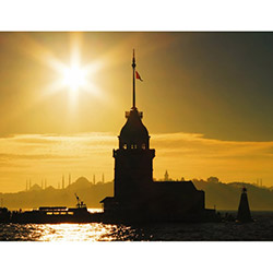 Duvar Tasarım DLC 1163 City & Mix Led Kanvas Tablo  - 50x70 cm
