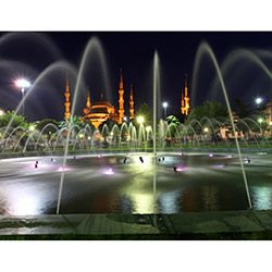 Duvar Tasarım DLC 1167 City & Mix Led Kanvas Tablo  - 50x70 cm