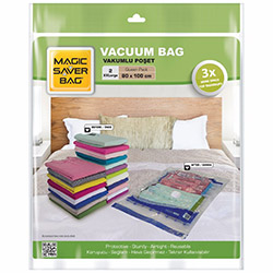 Magic Saver Bag 2'li XXLarge Vakumlu Poşet Seti