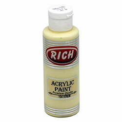 Rich Akrilik Boya (Krem) - 130 ml