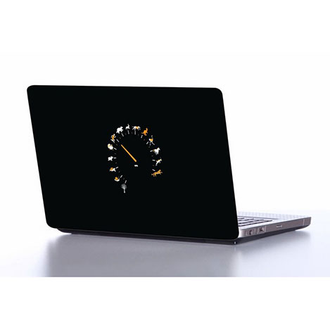 Resim  Supersticx NOTE23 Laptop Sticker - 37x26 cm