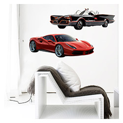 Artikel Dream Cars-3  Dev Duvar Stickerı - 105x125  cm