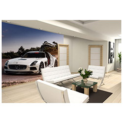 Ejoya Gifts Mercedes 001 Duvar Sticker - 250x250 cm