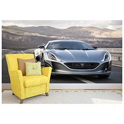 Ejoya Gifts Rimac COmcept One 001 Duvar Sticker - 145x145 cm