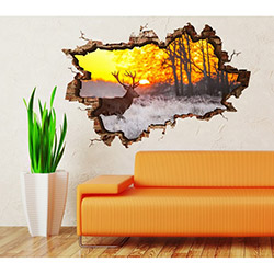 3d Art TDS-1056 Duvar Sticker - 70x45 cm
