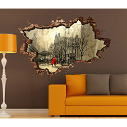 3d Art TDS-1077 Duvar Sticker - 70x45 cm