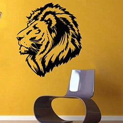 Secret WS-1167 Aslan Kral Sticker - 50x45 cm