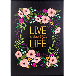 EuroFlora 96322 Live A Thankful Life Kanvas Tablo - 40x60 cm