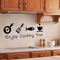 DekorLoft DY-108 Enjoy Cooking Time Duvar Sticker