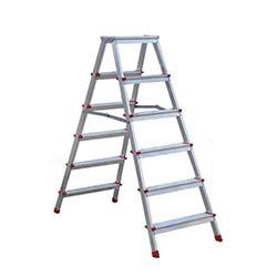 6 Basamaklı Olimpos Çift Çıkışlı Alüminyum Merdiven - 1,24 Metre