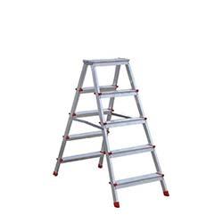 5 Basamaklı Olimpos Çift Çıkışlı Alüminyum Merdiven - 1,03 Metre