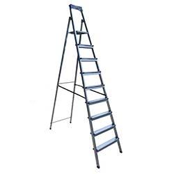 8 Basamaklı Galvaniz Kaplamalı Merdiven - 2,10 Metre