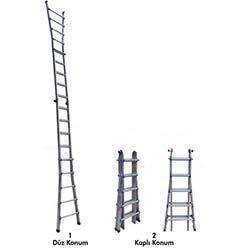 Çok Amaçlı Katlanır Alüminyum Merdiven - 1,52 Metre