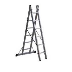 İki Parçalı Çok Amaçlı Alüminyum Merdiven - 3,2 Metre