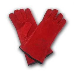 Veo Kırmızı Renk Kaynakçı Eldiveni