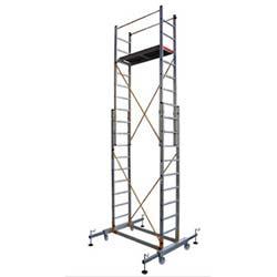 İki Parçalı Platformlu Alüminyum İskele - 2 x 2,5 Metre