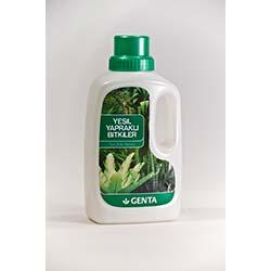 Genta Yeşil Yapraklı Bitkiler İçin Sıvı Besin
