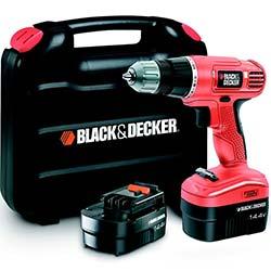 Black&Decker 14V Şarjlı Matkap (2 Akülü) 50 Parça Aksesuar