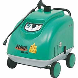 Flora TH200 Sıcak-Soğuk 200 Bar Basınçlı Yıkama Makinesi
